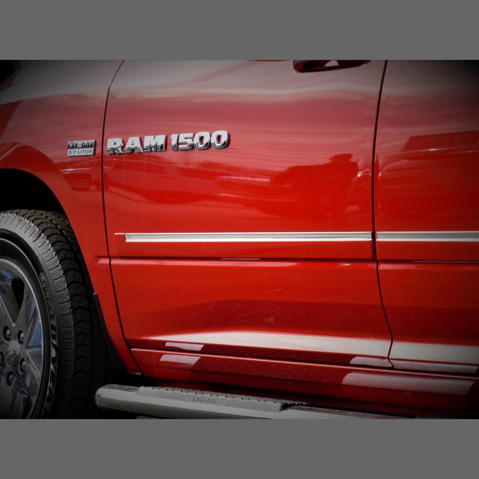 Body Side Moldings For 2010 Dodge Ram Pickup 1500 (Quad